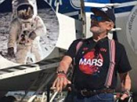buzz aldrin evacuated from a trip to the south pole after his 'condition deteriorated'