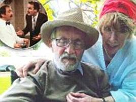 Fawlty Towers star Andrew Sachs dies 86: Widow pays emotional farewell as she reveals his secret four-year battle with dementia - and how she almost died caring for him