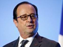 French President Francois Hollande stuns the country by announcing he will not stand for re-election next year