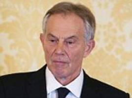 tony blair gifts all the money his business ventures have made to a new 'institute'