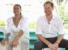 prince harry and pop superstar rihanna take a hiv test together in barbados on world aids day
