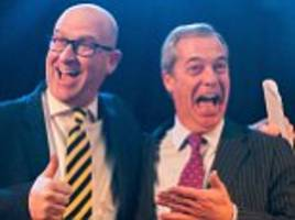 ukip leader paul nuttall forced to deny his website's claim that he played for tranmere