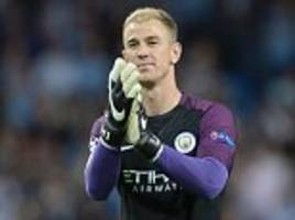 Manchester City keeper Joe Hart says his future lies away from the Etihad Stadium
