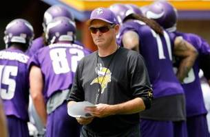 Vikings coach Zimmer to have emergency eye surgery