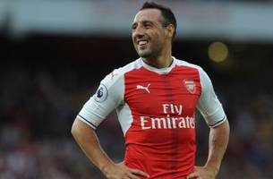 Arsenal's Santi Cazorla to miss three months with ankle injury