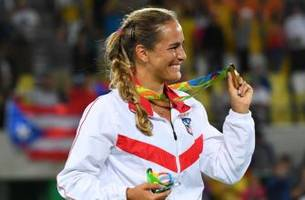 best 2016 tennis: monica puig at the summer olympic games in rio