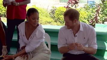 Prince Harry and Rihanna get HIV tests in Barbados