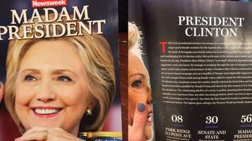 Fake News: Newsweek Admits They Didn't Write Or Even Read Madam President Issue