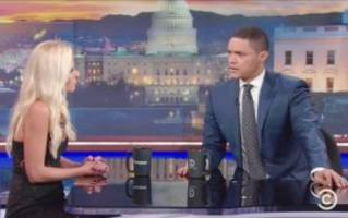 Trevor Noah and Tomi Lahren Get Into Heated Debate Over Black Lives Matter and Colin Kaepernick