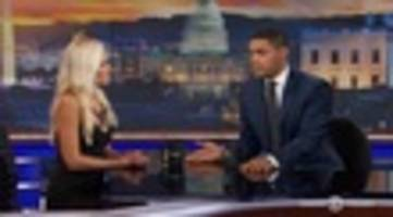 Watch Tomi Lahren & Trevor Noah Argue About Trump, Black Lives Matter, And Flyover States