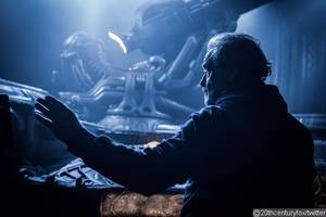 New 'Alien: Covenant' BTS Photo Hints at the Return of the 'Space Jockey'