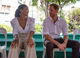 Rihanna and Prince Harry Take HIV Tests Together in Barbados