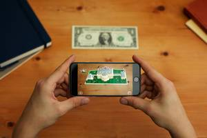 The White House's new app builds 1600 Pennsylvania Ave on a real $1 bill