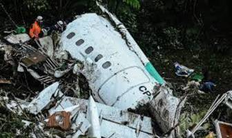 Colombian plane had run out of fuel before crash