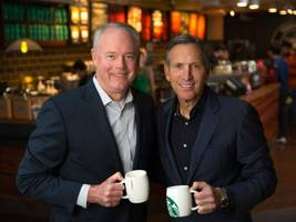 Howard Schultz Steps Down As Starbucks CEO