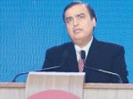 'Forget Facebook, WhatsApp and Skype...' Ambani says Reliance Jio is 'the word's'fastest-growing technology firm' after securing 52 MILLION phone contracts