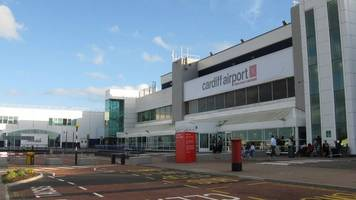 Cardiff Airport flight disruption caused by freezing fog