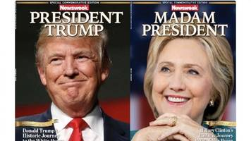 For Sale: Hillary Clinton 'Madam President' Newsweek Covers