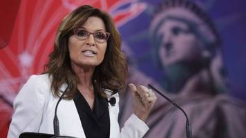 palin seems eager to win a spot in trump's cabinet