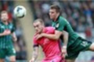 derek adams expects interest in plymouth argyle left-back ben...