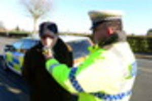 Police to crack down on drink and drug drivers over Christmas...