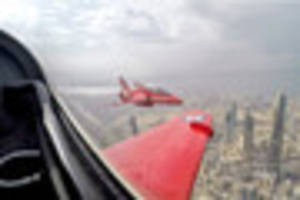 Red Arrows' return from epic 60-day 'world tour' delayed by...