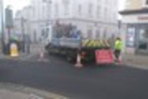 Westminster Street in Yeovil closed until further notice