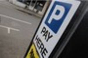 Parking your car in Croydon will be free over Christmas and the...