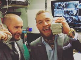 UFC's Conor McGregor Inches Closer To Floyd Mayweather Bout