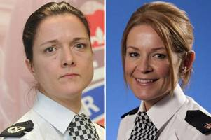 Top female cop who slammed colleague over boob job before exposing herself found guilty of gross misconduct