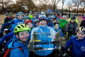 unsung hero award for east kilbride cycling enthusiast rachael halifax