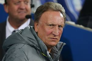 neil warnock claims cardiff city just one win short of his early bluebirds target - but still wants january signings to ease drop fears