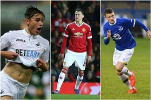 who are the other major teenage talents in welsh football and where do they play right now?