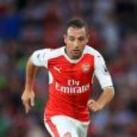Santi Cazorla faces long Arsenal absence as midfielder heads for ankle surgery