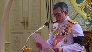 Thai Crown Prince Maha Vajiralongkorn proclaimed king