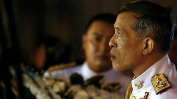 thailand prepares for crown prince to be anointed as new king