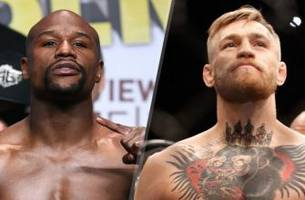 Oddmakers think Floyd Mayweather would dust Conor McGregor in a boxing match