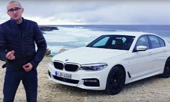 All-New BMW 540i Tested by Carfection: More Silent and Planted Than Expected