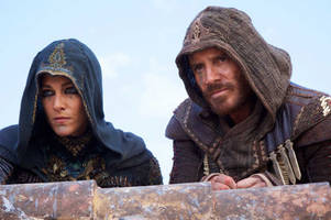 Frantic clip from upcoming 'Assassin's Creed' movie debuts during the Game Awards