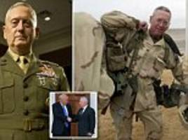 How General 'Mad Dog' became the world's most powerful soldier: Trump's new Defense Secretary says war is 'a hell of a hoot' and 'some a**holes need to be shot' (but he also loves Shakespeare and Roman philosophy)
