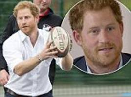 'People would use it as an opportunity to smash me up': Prince Harry talks candidly about the violence he endured in his school rugby matches