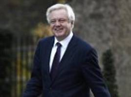 immigration must continue! now david davis hints at a soft brexit as he says britain needs a deal that ensures we fill labour shortages after we leave the eu