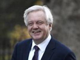 quentin letts on yesterday in parliament as david davis says he's going to be nice