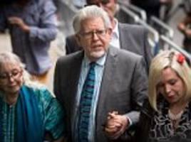 rolf harris' family siphon £4m from business empire as he faces more sex charges