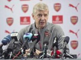 Arsenal news conference LIVE: Arsene Wenger talks to media after Santi Cazorla injury blow