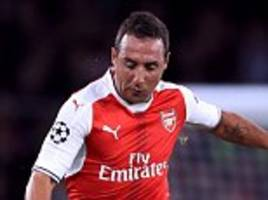 arsenal ready to trigger a 12-month option on santi cazorla's contract despite three-month achilles lay off