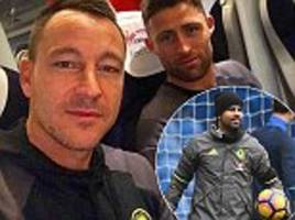 chelsea take the train north ahead of premier league showdown against manchester city as manager antonio conte relishes first meeting with pep guardiola