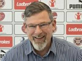 craig levein hoping to name robbie neilson successor at hearts before ibrox trip to face rangers next week
