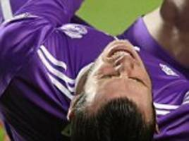 gareth bale out of club world cup as real madrid leave star out of squad due to ankle injury