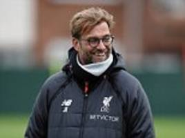 liverpool news conference live: jurgen klopp faces questions on forward line injury crisis